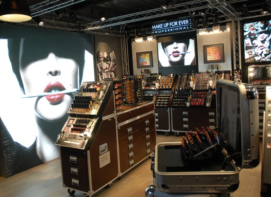 Make Up For Ever Store-in-Store Concept at Sephora Locations - Beauty Trends and ...