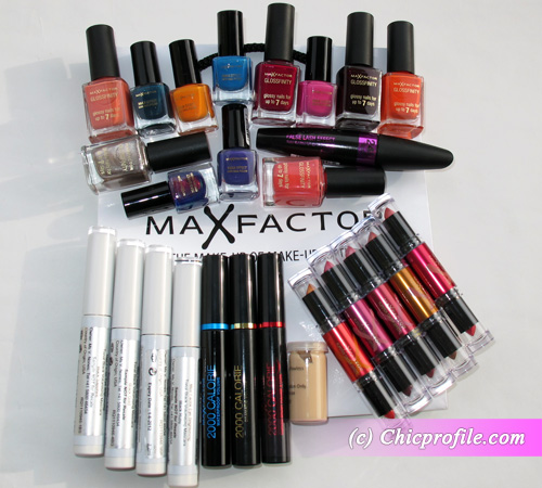 my package with makeup products and nail polishes from max factor preview beauty trends and. Black Bedroom Furniture Sets. Home Design Ideas