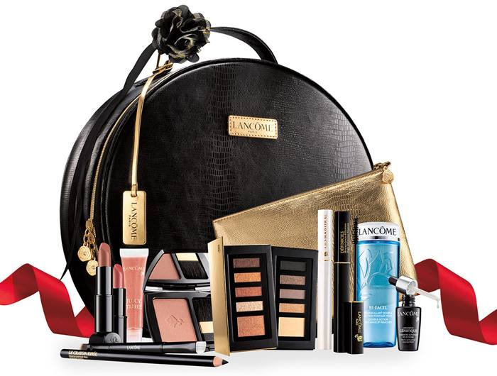 Lancome holiday gift with purchase beauty trends