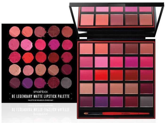Be Legendary Matte Lipstick Palette by Smashbox #22