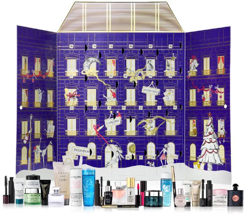lancome holiday 2017 advent calendars for selfridges and boots beauty trends and latest makeup. Black Bedroom Furniture Sets. Home Design Ideas