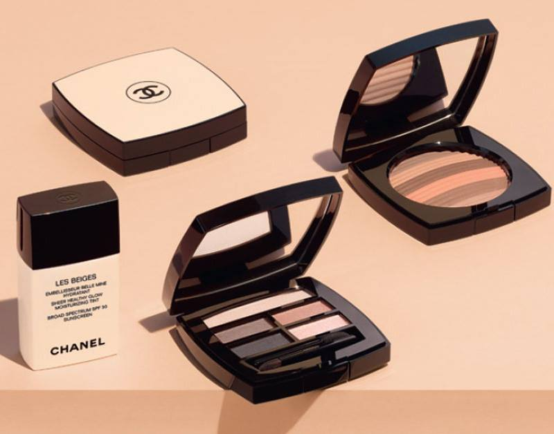 Chanel Les Beiges 2018 Summer Collection Beauty Trends
